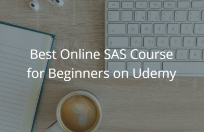 Best Online SAS Course for Beginners on Udemy